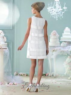 Enchanting by Mon Cheri 215112 Point D Esprit Wedding Dress