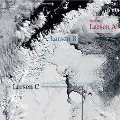 Discovery exposes fragility of Antarctica's Larsen C ice shelf