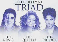 Michael Jackson. Prince. Whitney Houston