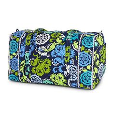 Maybe this bag will accompany me home from my next trip to Florida! Where's Mickey? Large Duffel Bag by Vera Bradley