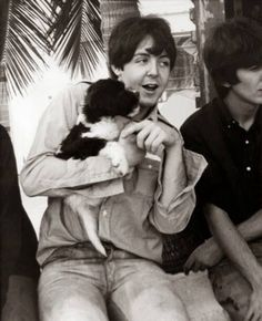 Paul and puppy