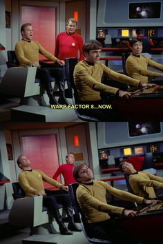 Oh, old-school Star Trek.