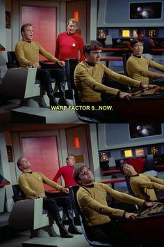 Oh, old-school Star Trek.