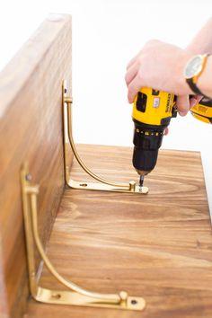 DIY Low Floor Table