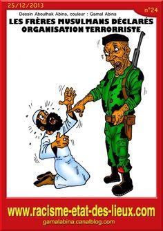 Les Frères musulmans déclarés organisation terroristes en Égypte.