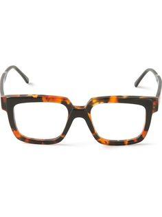 b0eb86cf6a2 Tortoise shell square frame glasses from Kuboraum. Just like his Designer  Glasses Frames