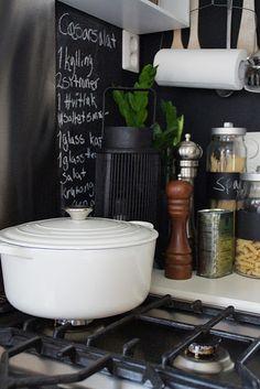 White Le Crueset - my favorite pot.