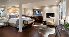 Luxurious Basement Guest Room - Steven and Chris
