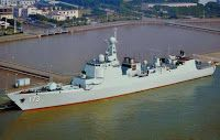 China's 052D destroyer equipped with new vertical launching system