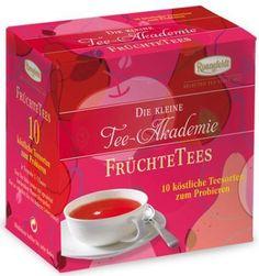 Die kleine Ronnefeldt Tee-Akademie Früchtetee