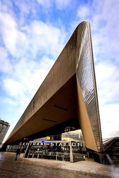The Netherlands - Rotterdam, Centraal Station (gereed 2014)