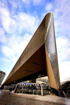 Rotterdam - centraal station (gereed 2014)