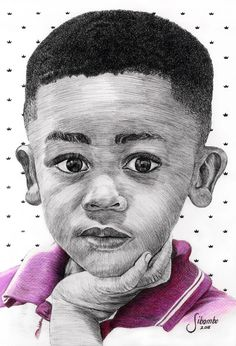 Lil King David, Fineliner Drawing King David, How To Draw Hands, Portrait, Drawings, Art, Art Background, Headshot Photography, Kunst, Hand Reference