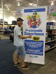 Wii U demos at Best Buy during E3