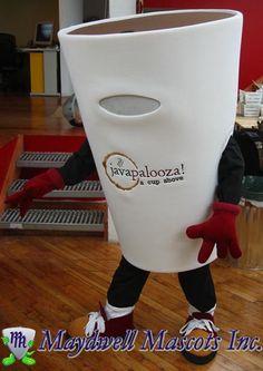 Coffee Cup mascot - Javapalooza