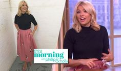 Holly Willoughby opts for classic 50s style to present This Morning ahead of her birthday