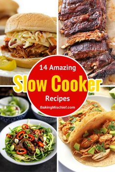 14 amazing slow cooker recipes for a delicious and easy dinner!