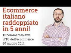 #EcommerceNews - Raddoppiato in Italia l'Ecommerce in 5 anni!