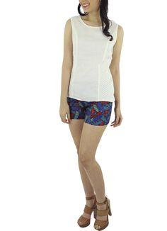 Blusa Icary #moda #lino #SS2015 www.abito.com.mx