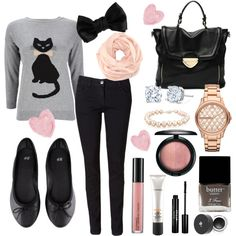 """""""Meow Meow"""" by lilyshipwreck on Polyvore"""