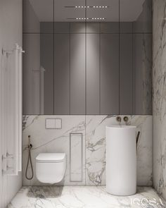 New luxury is a modern individuality, progressive design and functionality. Bathroom Design Luxury, Modern Bathroom Decor, Bathroom Design Small, Modern Bathrooms, Wc Design, Toilet Design, Hotel Room Design, Interior Design Studio, Powder Room Design