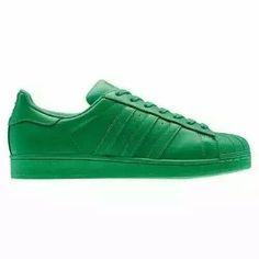 Uomo Donna Superstar Supercolor Adidas Pack Scarpe Verdi Verdi Verdi S83389 2bef4a25581
