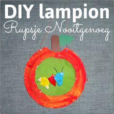 ★ Lampion Rupsje Nooitgenoeg ★ Mooie lantaarn voor Sint Maarten zelf maken #leukmetkids