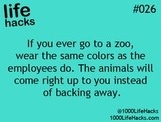 25 Useful Life Hacks - Imgur FUNNY! Except I don't want them coming up to me.