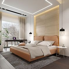 Modern Bedrooms, Luxury Rooms, Stylish Bedroom, Behance, Ceiling, Interiors, Projects, House, Furniture
