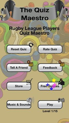You've seen the rugby player before but can't quite place him. Rugby League Players Quiz Maestro will help you fill in the blanks. A must for fans of Super League and National Rugby League!If you get stuck you can: √ Remove or reveal letters. √ Skip ahead to the next rugby player. √ Ask for help on Twitter or Facebook. Features past masters and modern greats. How many rugby players do you know? Put your rugby league knowledge to the test!  http://Mobogenie.com