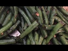 Easy Chinese Peppered Green Beans Recipe