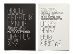 Beetroot -+ Thessaloniki Museum of Photography Typeface Font, Typography, Thessaloniki, Beetroot, Museum, Photography, Design, Letterpress, Photograph