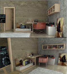 Idée pour les chambres dadolescents ~ Décor de Maison / Décoration Chambre