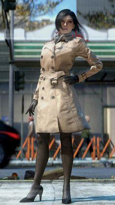 Ada Wong by XieAngel on DeviantArt Tyrant Resident Evil, Resident Evil Girl, Female Character Design, Character Drawing, Game Character, Ada Wong, Black Brown Hair, Evil World, Life Is Strange