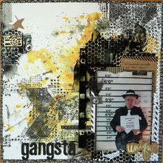 ArtScrapz: Gangsta