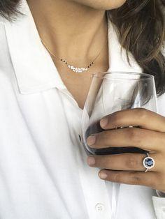 Simple Diamond Mangalsutra Pendant | Constellation by Sampat Jewellers