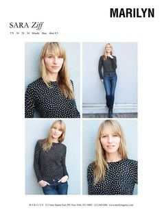 Sara Ziff   Marilyn - March 2012