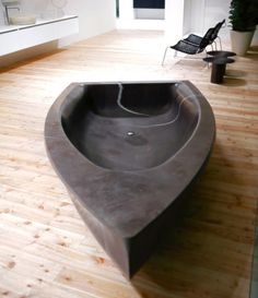 Fancy - Vascabarca Stone Boat Bath by Antonio Lupi
