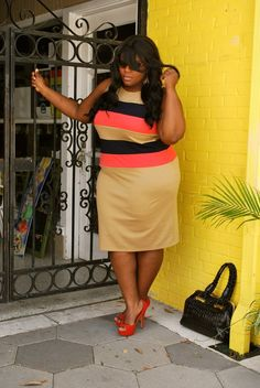 Plus size women's fashion styled by Musings of a Curvy Lady