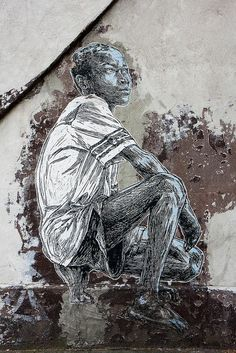 Artist : Swoon #street art #graffiti