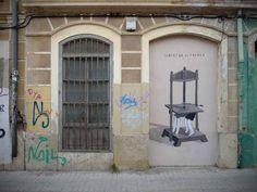 Nuevo mural de Escif en Valencia
