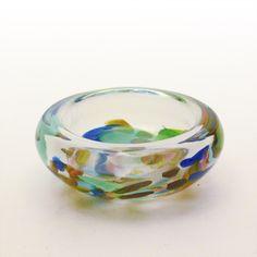 Bowl, Bengt Orup (Johanfors, 1960s?) Pottery Painting Designs, Paint Designs, Decorative Bowls, 1960s, Glass Art, Tableware, Collection, Glass, Dinnerware