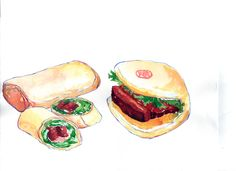 Mouth-Watering Illustrations Of Food From Taiwan's Festivals - DesignTAXI.com