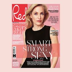 It's new issue day! Our April edition is on sale today starring Gillian Anderson stripy spring accessories Vicky McClure ruffles for seaside chic and secrets of thicker glossier hair. Swipe across for a sneak peak! #newissue #redmagazine #gilliananderson #coverstar #springstyle #fashiontrends #magazine #vickymcclure #chic  via RED MAGAZINE OFFICIAL INSTAGRAM - Celebrity  Fashion  Haute Couture  Advertising  Culture  Beauty  Editorial Photography  Magazine Covers  Supermodels  Runway Models
