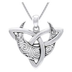 online shopping for Jewelry Trends Sterling Silver Celtic Triquetra Moon Goddess Trinity Knot Pendant Necklace 18 from top store. See new offer for Jewelry Trends Sterling Silver Celtic Triquetra Moon Goddess Trinity Knot Pendant Necklace 18 Celtic Necklace, Moon Necklace, Silver Pendant Necklace, Sterling Silver Necklaces, Necklace Chain, Silver Earrings, Silver Bracelets, Nameplate Necklace, Garnet Necklace