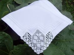4 Piece Lace Cloth Napkins by colorfuldesings on Etsy