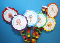 Bubble Guppies Candy Favors 12plus 1 FREE for by TheGirlieMom, $15.00