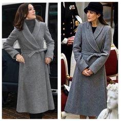 Same jacket in 2016 and 2017 - Moda Denmark Fashion, Prince Frederick, Queen Margrethe Ii, Danish Royalty, Caroline Of Monaco, Danish Royal Family, Queen Dress, Charlotte Casiraghi, Crown Princess Mary