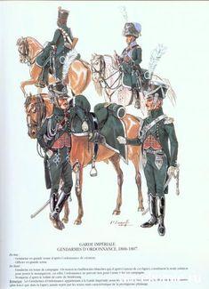 Gendarmes d'ordonnance de la garde imperiale 1806-07