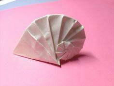 White Shell origami